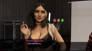3 – Fashion Business -part 3 – Photo session with  sexy model