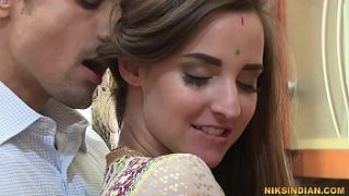 Badlan Savita Bhabhi gets her pussy and ass fucked by a foreign man's cock