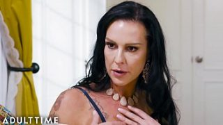 Caught Fapping – Stepmom Teaches Step-Son How to Fuck