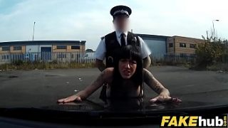 Fake Cop Hot cyclist with big tits and sweet ass