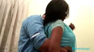 First time Indian Bangla hard sex with cute beau girlfriend named Lucky at Home