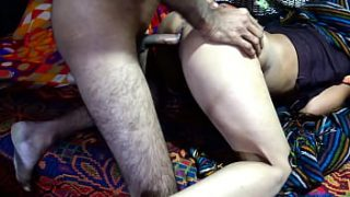 Horny Mom & Son fuck when no one's at home