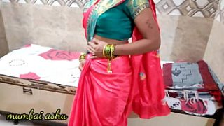 Newly desi bhabhi's pussy made her cry with a heavy blow of a thick cock